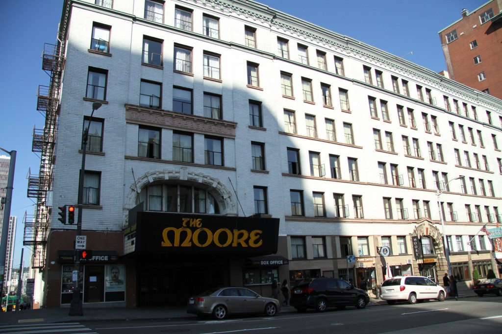The Moore Hotel, Seattle