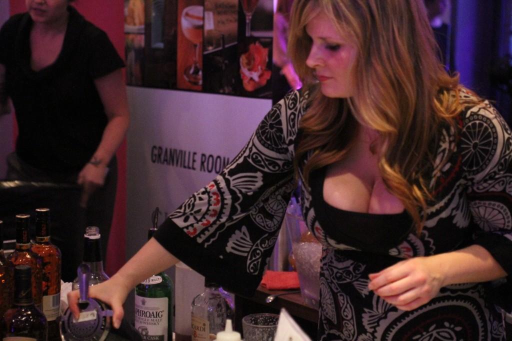 Christa Meek of the Hamilton Street Grill at Shake Up Yaletown at Minami Restaurant, Vancouver