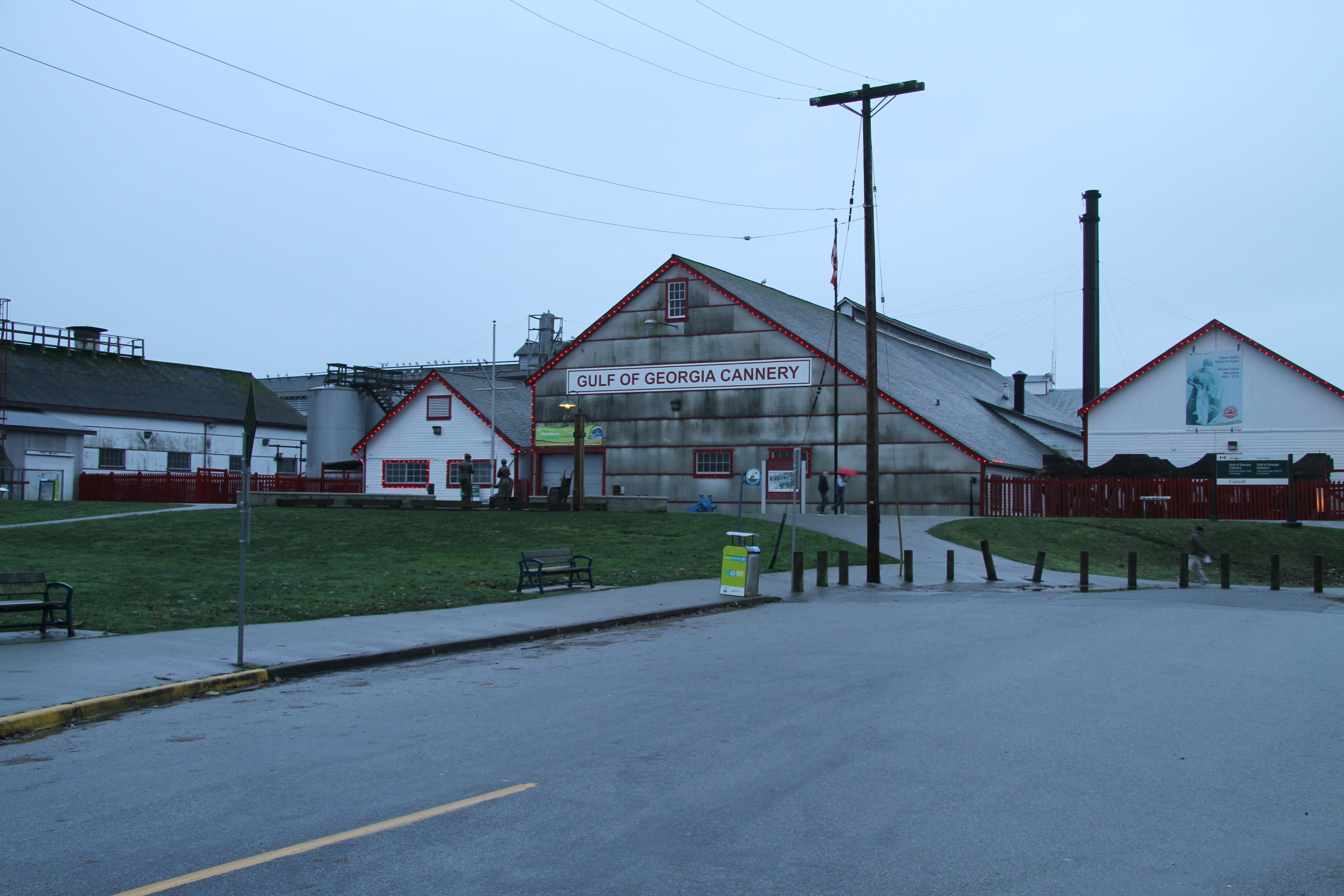 Gulf of Georgia Cannery on Boxing Day 2012