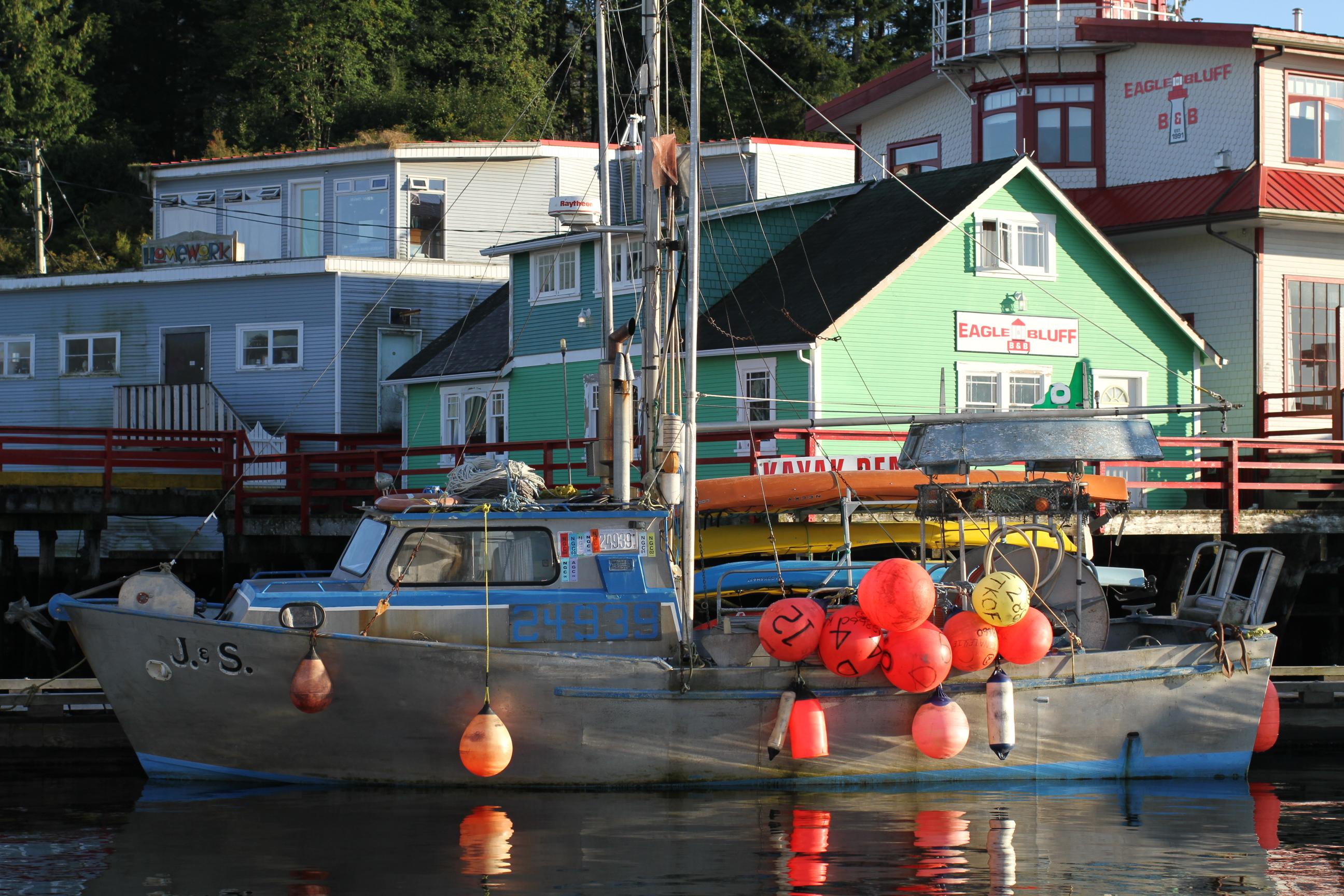 Cow Bay, Prince Rupert, BC