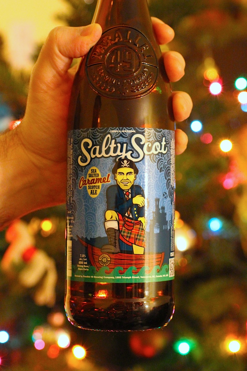 Salty Scot Sea Salted Caramel Scotch Ale