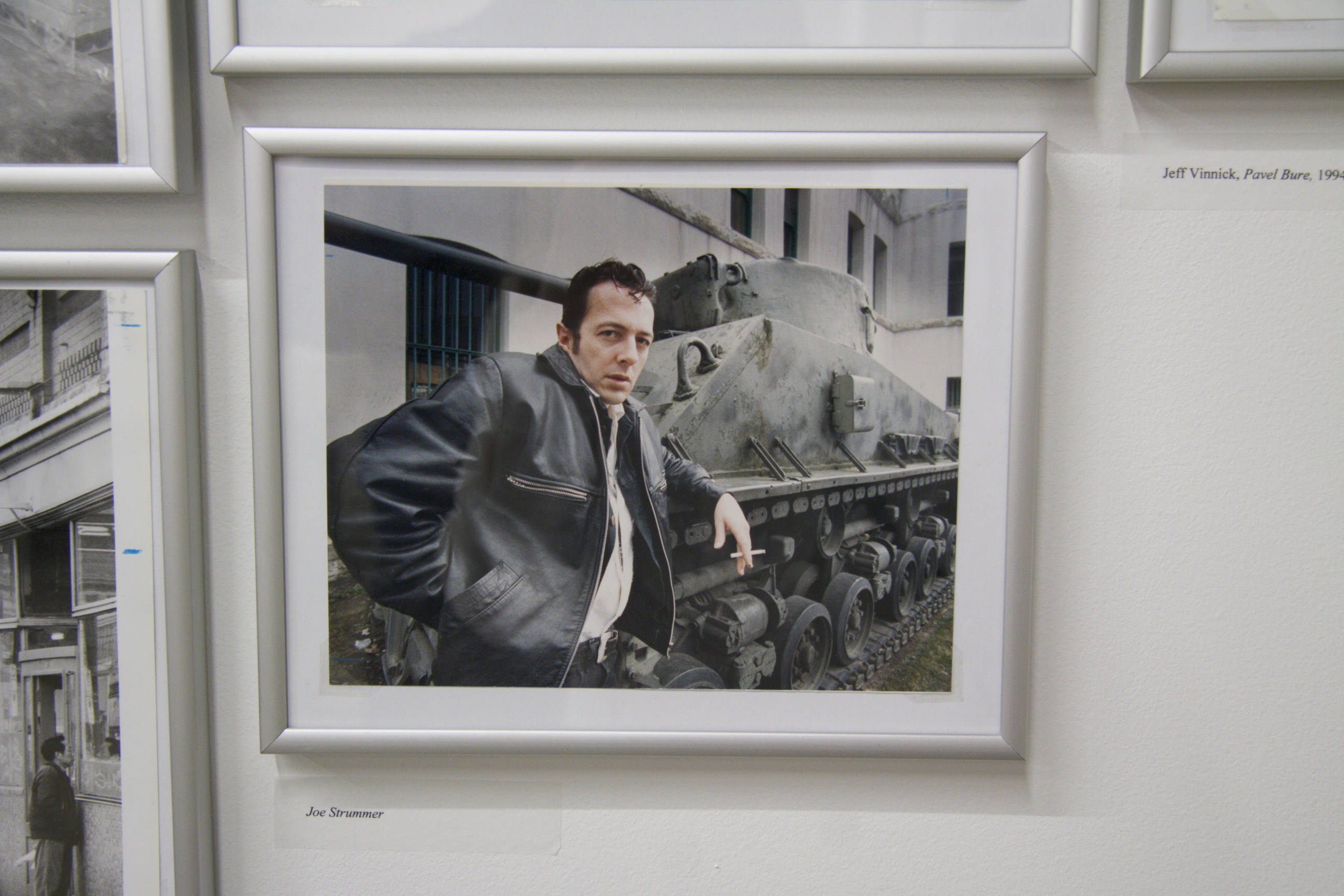 Joe Strummer at the Vancouver Armoury, Vancouver Sun Photo Archives