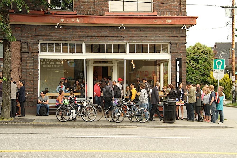 Prado Cafe on Commercial Drive, June 19, 2013
