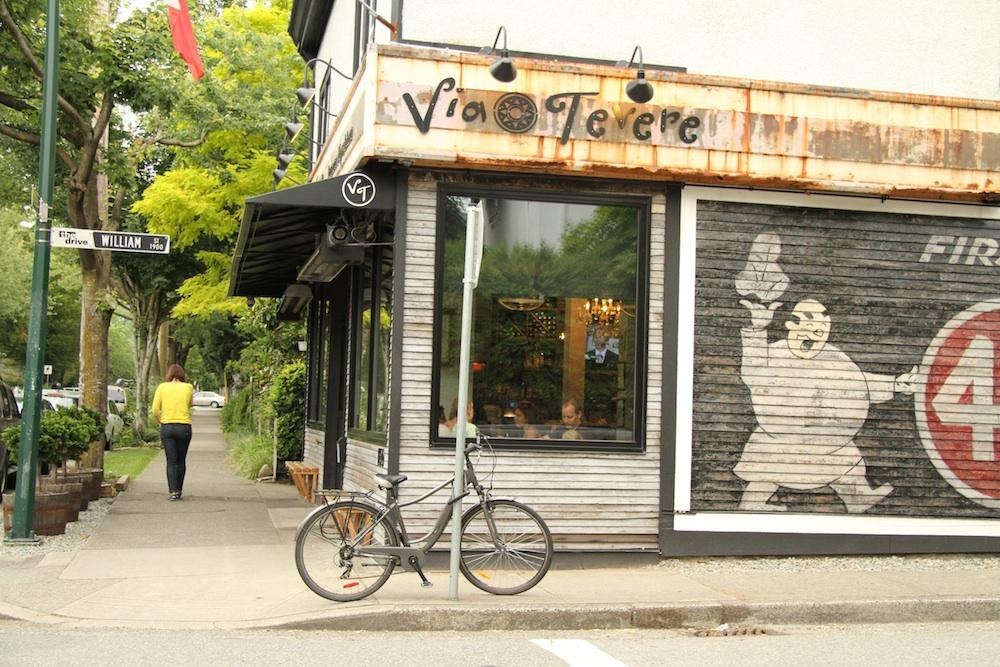 Via Tevere on Victoria Drive, Vancouver