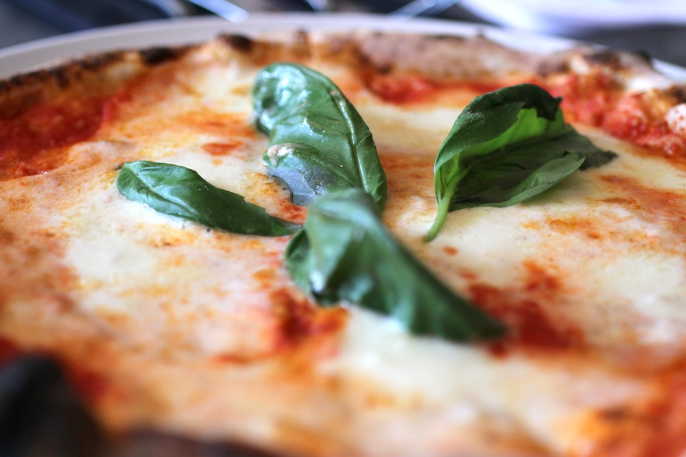 A Margherita Pizza