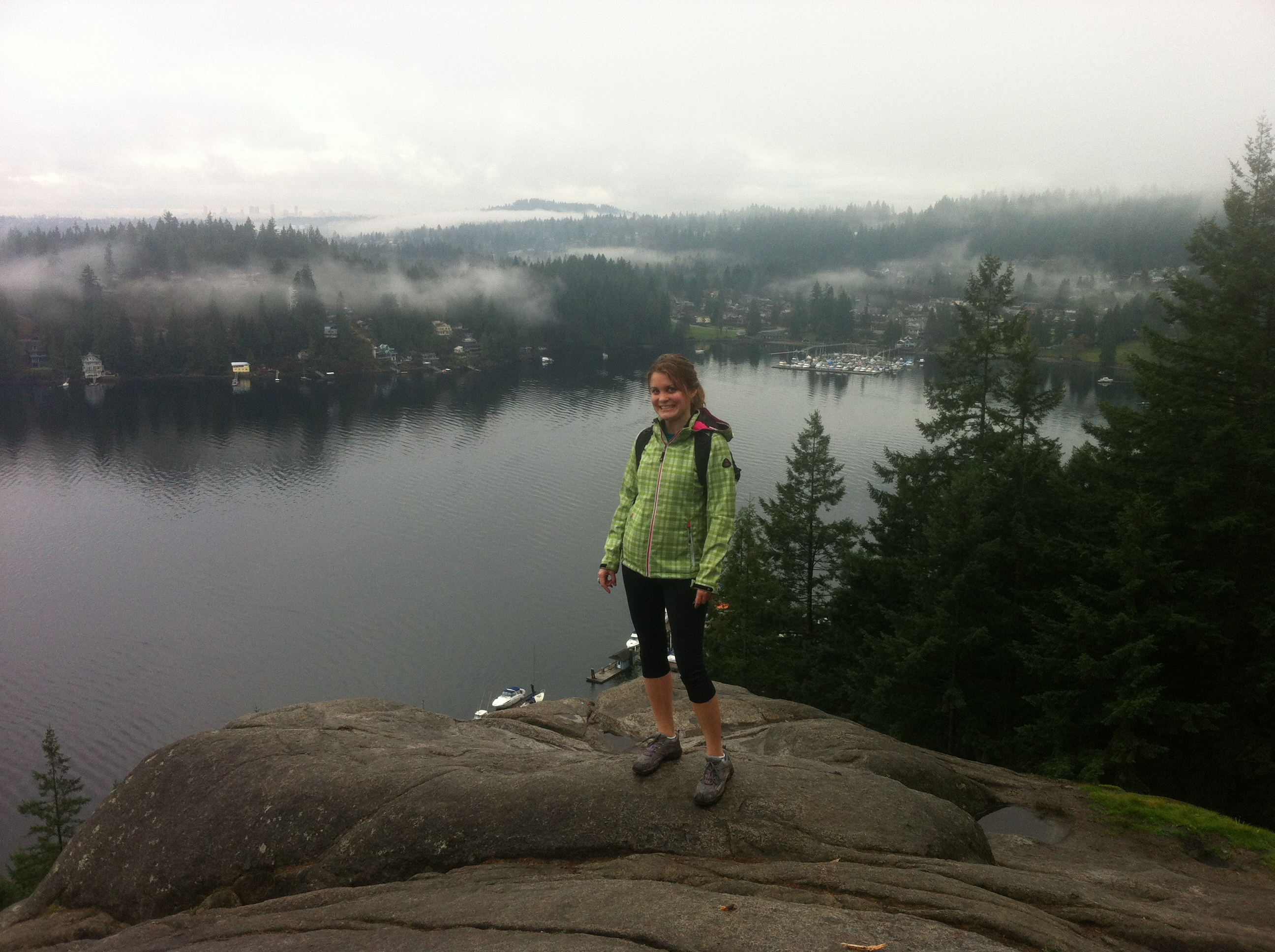 Robyn at Quarry Rock
