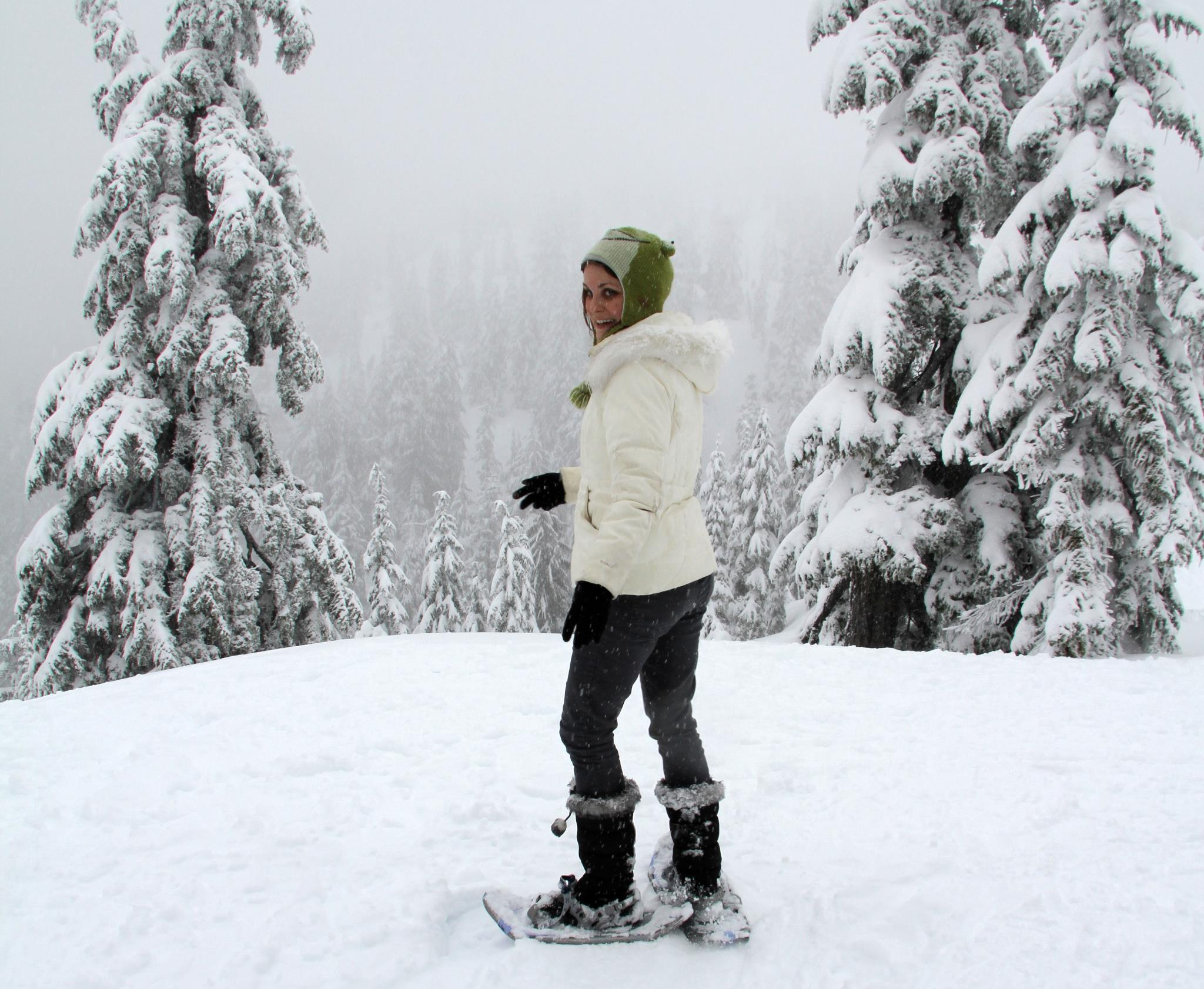 Snowshoeing Mount Seymour