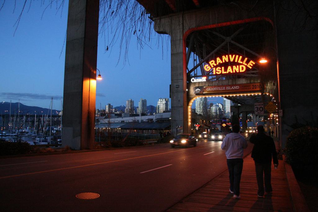 Granville Island. Photo: Robyn Hanson