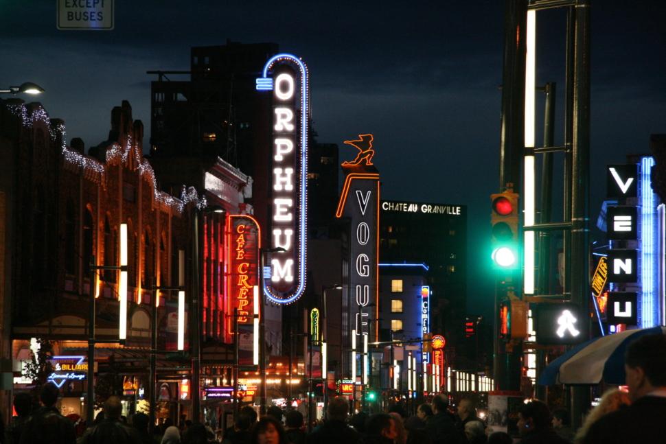 Vancouver's Granville Street