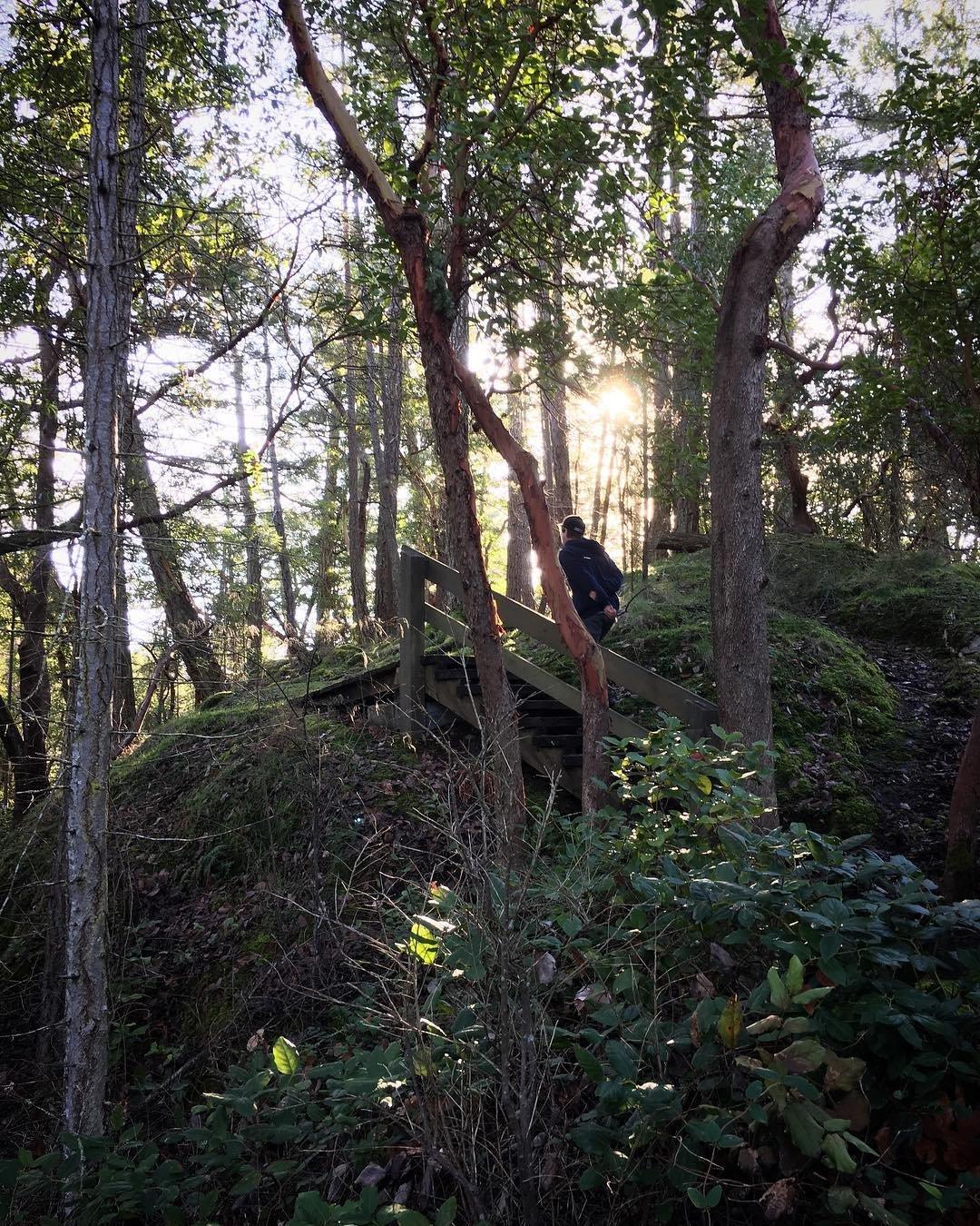 Hiking Smuggler Cove Provincial Park
